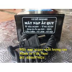 Bộ sạc ắc quy 12V 6A đến 25A hàng Việt nam chất lượng cao