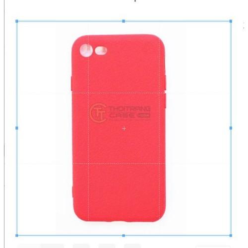 Ốp lưng iphone 7,8 silicone giả da