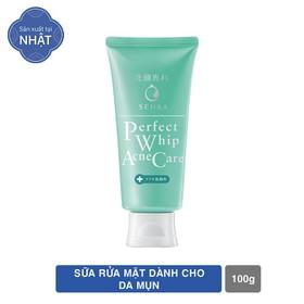 Sữa rửa mặt dành cho da mụn Senka Perfect Whip Acne Care 100g - 4909978155544