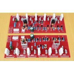 Mạch Công Suất 12 Sò MJL21193 MJL21194 Điện Áp Cao FR4 Nhiều Màu