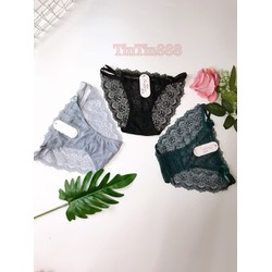 [ảnh shop chụp] combo 10 quần lót nữ phối ren 1460, quan lot nu - TinTin888