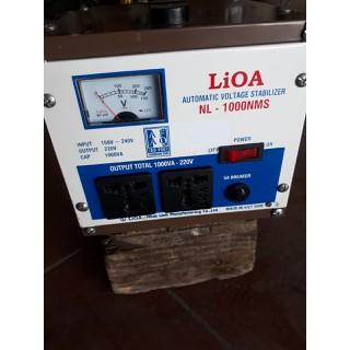 Ôn áp lioa 1kw giải 150-240v - NL-1000NMS thumbnail