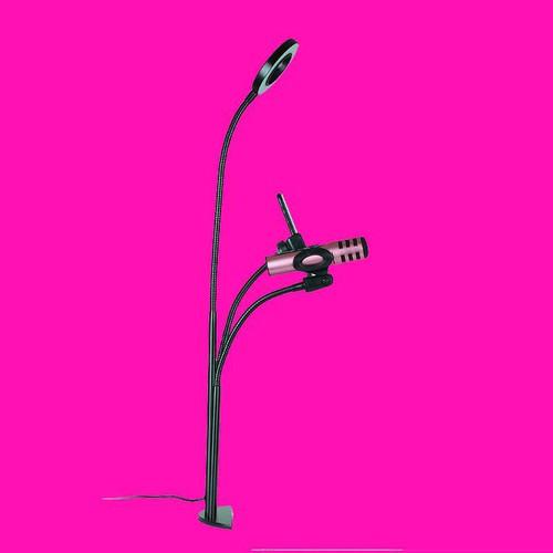 Bộ giá đỡ 3 in 1 livestream đèn led giá đỡ míc giá đỡ điện thoại chac
