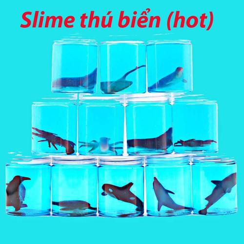 Slime chất nhầy ma quái thú biển mochi cho trẻ sp mã wu6539