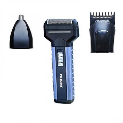 Tông đơ cắt tóc 3 in 1 cho chúng ta thoải mái cắt và cạo hay cắt lông mũi dễ dàng nikai kp40425 loạn