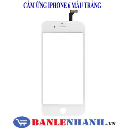 Mặt kính cảm iphone 6 plus màu trắng