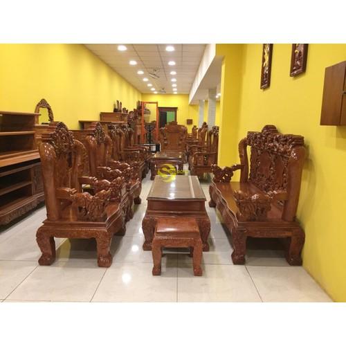 Bộ bàn ghế gỗ hương đá chạm tứ linh 6 món tay 12 - - 17880658 , 22290616 , 15_22290616 , 53900000 , Bo-ban-ghe-go-huong-da-cham-tu-linh-6-mon-tay-12--15_22290616 , sendo.vn , Bộ bàn ghế gỗ hương đá chạm tứ linh 6 món tay 12 -