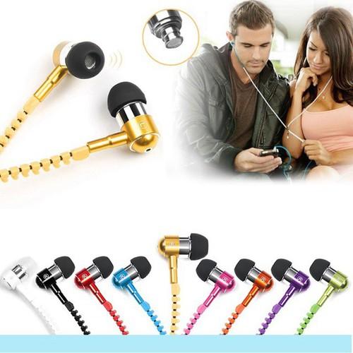 Nghỉ bán giá sốc tai nghe có mic tai nghe dây kéo thời trang cực hot