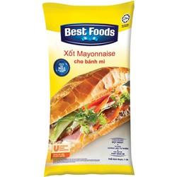 Xốt Mayonnaise Cho Bánh Mì Best Food 1L