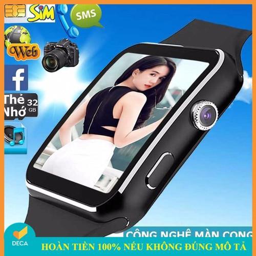 Đồng hồ thông minh x6 màn hình cong cao cấp màu đen - 17893018 , 22306906 , 15_22306906 , 550000 , Dong-ho-thong-minh-x6-man-hinh-cong-cao-cap-mau-den-15_22306906 , sendo.vn , Đồng hồ thông minh x6 màn hình cong cao cấp màu đen