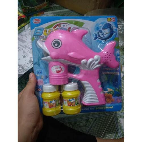 Đồ chơi cá heo bắn bong bóng