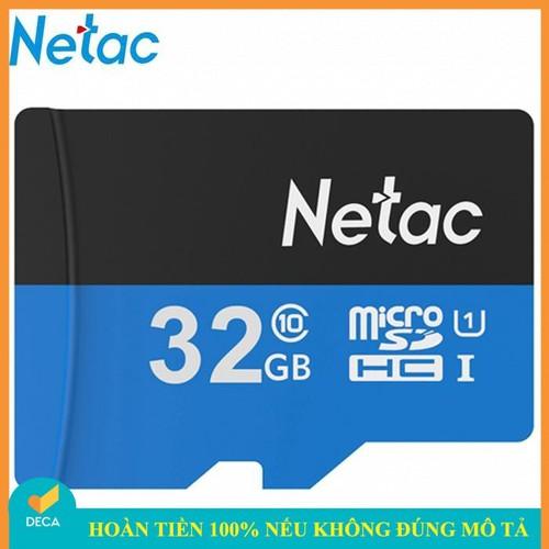 Thẻ nhớ micro sd netac 32gb class 10 - hàng chính hãng - 17898847 , 22315239 , 15_22315239 , 145000 , The-nho-micro-sd-netac-32gb-class-10-hang-chinh-hang-15_22315239 , sendo.vn , Thẻ nhớ micro sd netac 32gb class 10 - hàng chính hãng