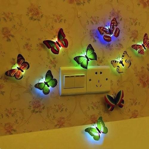 Giadunghoangmai đèn ngủ hình bướm phát sáng km 688