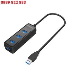 Hub chia 4 cổng USB 3.0 Orico W5PH4 - Bộ chia 4 cổng USB - hub usb 4 cổng