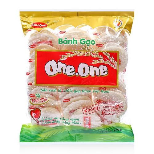Bánh gạo vị ngọt dịu one-one gói 230g - 17899173 , 22315615 , 15_22315615 , 30000 , Banh-gao-vi-ngot-diu-one-one-goi-230g-15_22315615 , sendo.vn , Bánh gạo vị ngọt dịu one-one gói 230g