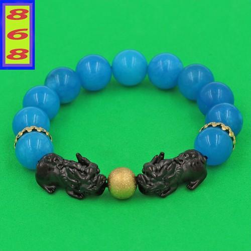 Vòng tỳ hưu - vòng tỳ hưu phong thủy - vòng tỳ hưu inox - vòng tay đá ngọc tủy xanh biển 12 ly - vòng tay tỳ hưu đôi inox đen vntxbthhev12 - hợp mệnh mộc, mệnh thủy - 17878149 , 22287375 , 15_22287375 , 210000 , Vong-ty-huu-vong-ty-huu-phong-thuy-vong-ty-huu-inox-vong-tay-da-ngoc-tuy-xanh-bien-12-ly-vong-tay-ty-huu-doi-inox-den-vntxbthhev12-hop-menh-moc-menh-thuy-15_22287375 , sendo.vn , Vòng tỳ hưu - vòng tỳ hưu