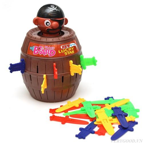 Bộ đồ chơi đâm hải tặc pirate cỡ lớn 24 kiếm bán nốt nghỉ