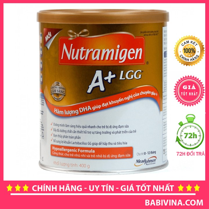 [Cho xem hàng] sữa bột enfa nutramigen lgg 400g