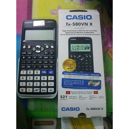 Máy tính Casio FX-580VNX Bảo hành 7 năm