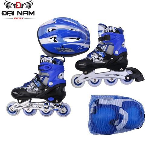 Giày trượt patin trẻ em longfeng 906 bánh phát sáng tặng bộ bảo hộ hk t3 - 17869932 , 22713689 , 15_22713689 , 1025000 , Giay-truot-patin-tre-em-longfeng-906-banh-phat-sang-tang-bo-bao-ho-hk-t3-15_22713689 , sendo.vn , Giày trượt patin trẻ em longfeng 906 bánh phát sáng tặng bộ bảo hộ hk t3