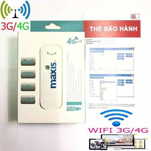 Wifi di động không dây usb maxis mf94 - wifi cho nhiều máy kết nối