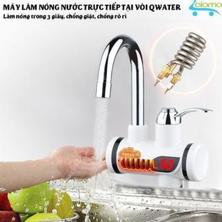 Máy làm nóng nước trực tiếp kèm vòi sen QWater RX-04 loại gắn tường trực tiếp - QWater RX-04 thumbnail