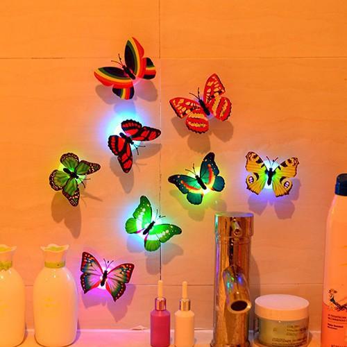 Sticker dán tường bướm phát sáng 3d bán giá sốc