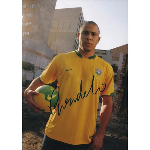 Chữ ký tay của ronaldo13x18cm