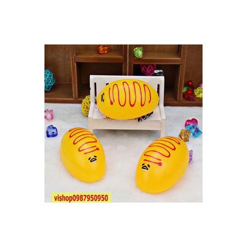 Gudetama squishy trứng trút giận bánh ú bán giá sốc