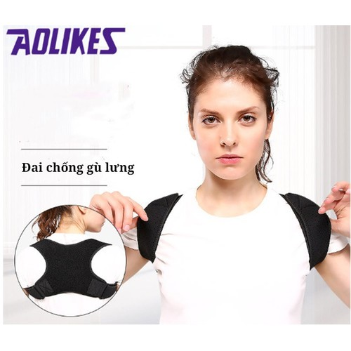 Đai đeo chống gù lưng cao cấp dành cho nam và nữ aolikes - 17879969 , 22289611 , 15_22289611 , 145000 , Dai-deo-chong-gu-lung-cao-cap-danh-cho-nam-va-nu-aolikes-15_22289611 , sendo.vn , Đai đeo chống gù lưng cao cấp dành cho nam và nữ aolikes