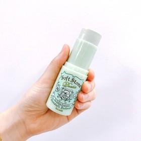 Lăn khử mùi đá khoáng Soft Stone xanh lá 20g - 817-2