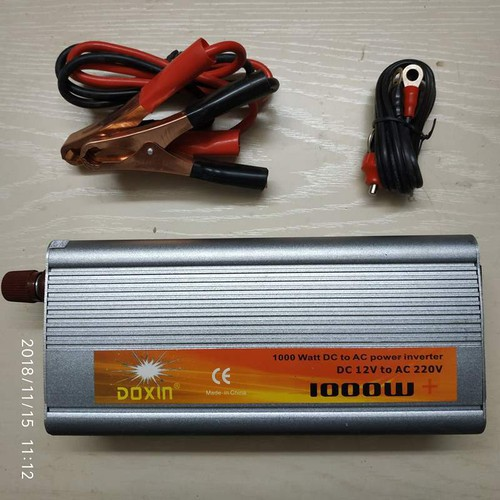 Bộ kích điện 12v lên 220v  doxin 1000w