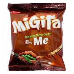 kẹo me Migita bibica 70g combo 2 bịch