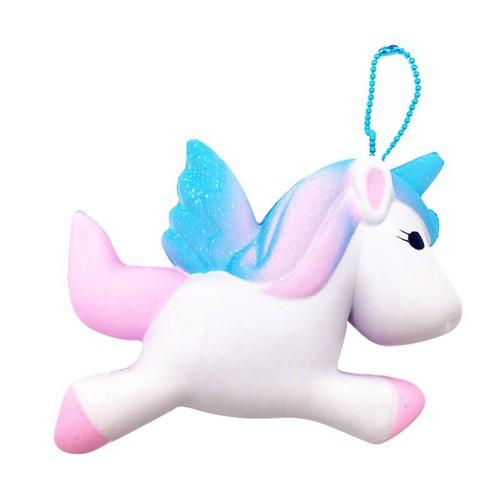 Đô ̀ chơi bo ́ p squishy hi ̀ nh ngư ̣ a unicorn dê ̃ thương cực đã