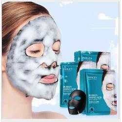5 miếng  mặt nạ sủi bọt thải độc Images Hydrating skin Buddles Amino Acid