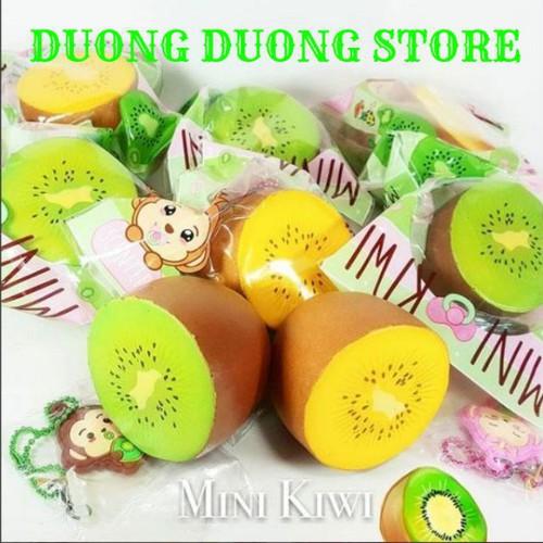 Squishy mini kiwi hãng punimaru bán rẻ đã