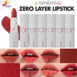 Son Thỏi Lì, Lâu Trôi , Lên Màu Chuẩn Romand Zero Layer Lipstick  HOT NEW