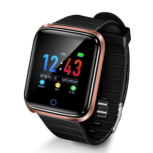 Đồng hồ thông minh d28 chống nước ip67 theo dõi sức khỏe : nhịp tim , huyết áp , chất lượng giấc ngủ . chức năng thể thao : bước chạy , quãng đường di chuyển , calo tiêu thụ