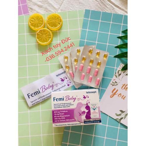 Thuốc bổ bầu femibaby - xách tay đức