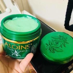 Kem Xanh Dưỡng Da Toàn Thân Lô Hội Aloins Eaude Cream 185g - 1096
