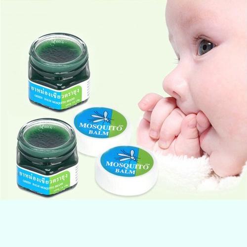 🍀🍀🍀dầu trị muỗi đốt green balm mosquito brand 13g🍀🍀🍀