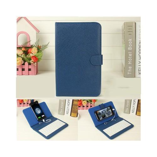 Bao da kiêm bàn phím cho điện thoại máy tính bảng 4 5 8 inch bán lỗ