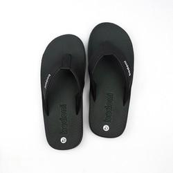 Dép kẹp xỏ ngón nam thời trang - êm chân - có size lớn - màu đen