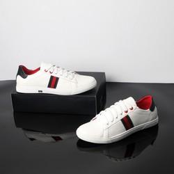 Giày Sneaker Nam trắng sọc cực đẹp giá tốt B283