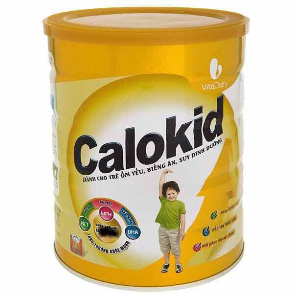 Sữa calokid 900g cho trẻ biếng ăn