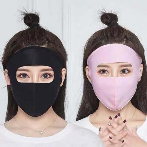 Quần chống nắng lanh 2 lớp tặng kèm khẩu trang ninja 2019