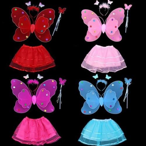 Bộ hóa trang cánh bướm thiên thần cho bé shop matnaxuong