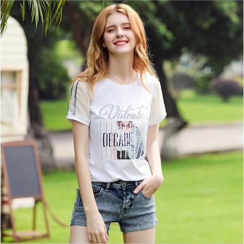 Ah5129 - áo thun nữ ngắn tay hàng nhập