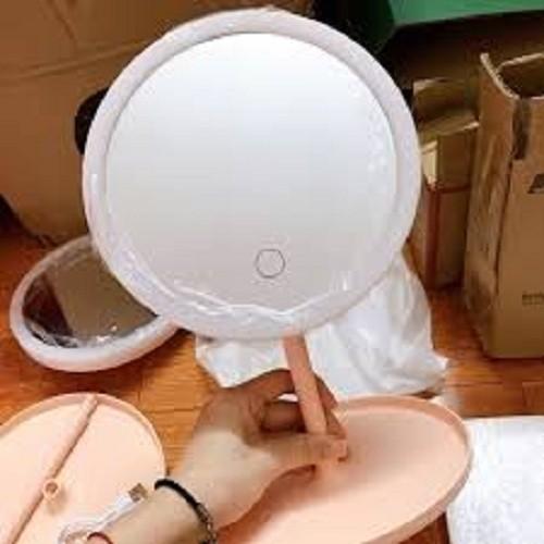 Gương trang điểm tích hợp đèn led có thể sạc tiện dụng - 17791349 , 22323148 , 15_22323148 , 159000 , Guong-trang-diem-tich-hop-den-led-co-the-sac-tien-dung-15_22323148 , sendo.vn , Gương trang điểm tích hợp đèn led có thể sạc tiện dụng