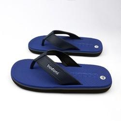Dép kẹp xỏ ngón nam thời trang - êm chân - có size lớn - màu xanh dương